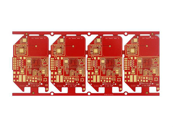 4 Layer OSP+ENIG PCB