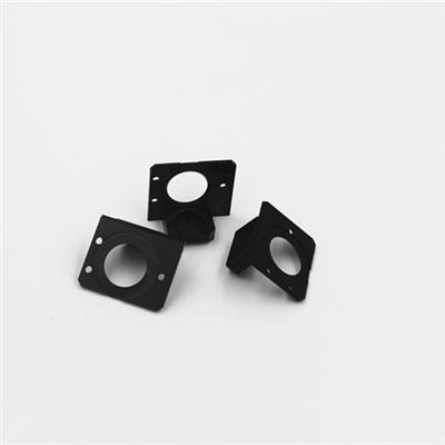 CNC milling machining plastic parts with accurate dimensions +/-0.005mm, no MOQ