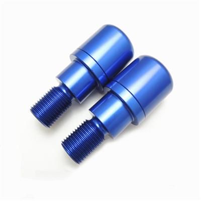 High Precision Color Anodized CNC Turned Aluminum Mechanical Components