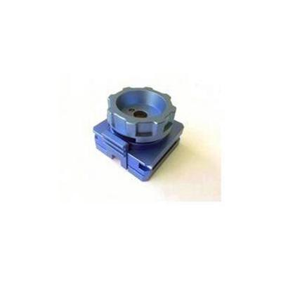 CNC Machining parts with Fine and Smooth Surface, Used for Telecommunication Industry