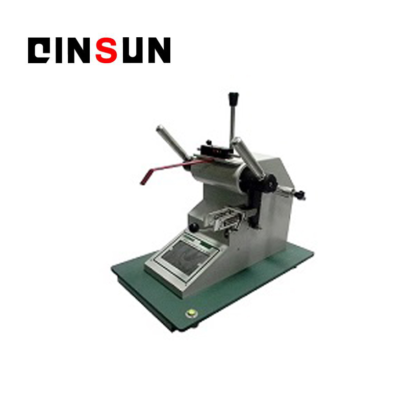 falling-pendulum fabric tearing strength  tester