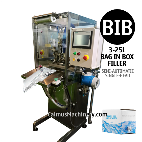 Semi-automatic BIB Filling Machine Bag Water Packaging Equipment Bag-in-Box Filler