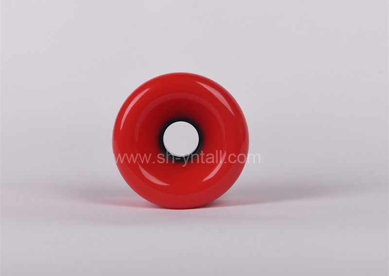 pu wheels for skate board 75*51 round  PU Wheels   red pu wheels for skateboard supplier