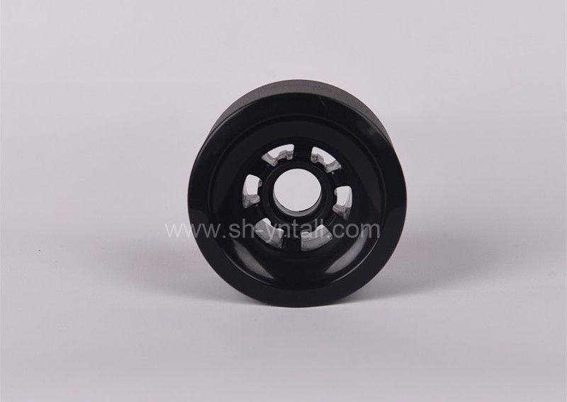 pu wheels for skate board 80*52  PU Wheels  black pu pulley for skate board