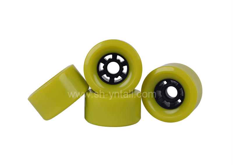 pu wheels for skate board 83*44   customized pu pulley for skate board