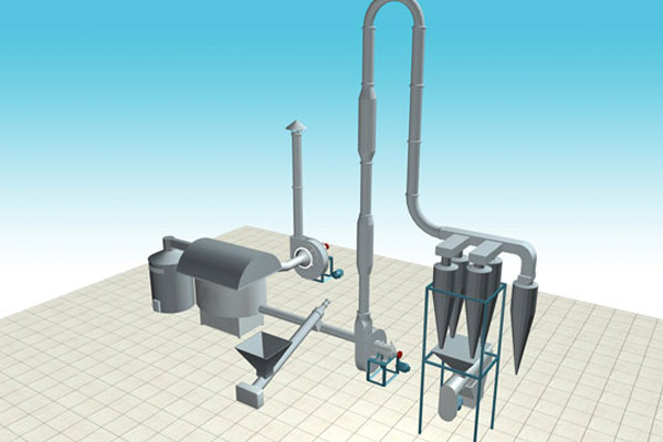Airflow Flash Dryer(Cassava Drying Machine)
