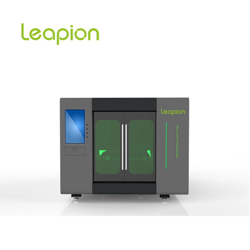 Leapion LF-3015PE 1000W Full Enclosed Exchange Worktable Fiber Laser Cutting  Machine For Metal