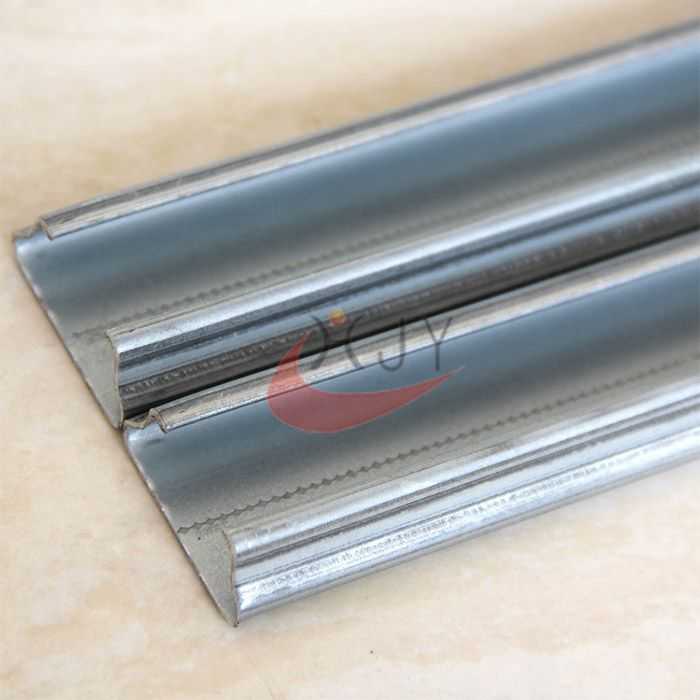 Hot Galvanized Greenhouse Film Lock Channel Wiggle Wire  Greenhouse Film Lock Profile