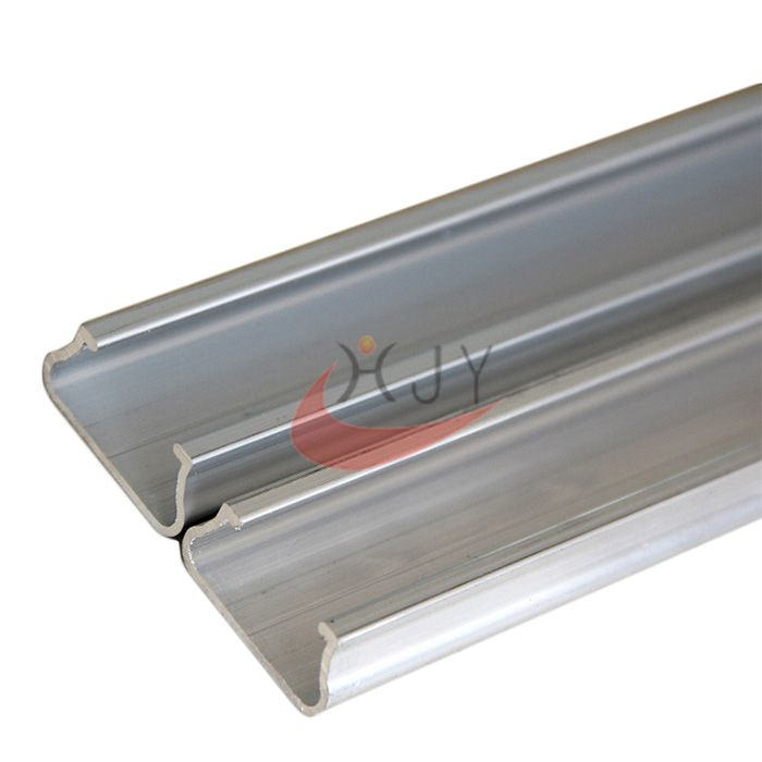 Greenhouse Film Aluminum locking Channel Lock Profile  Greenhouse Film Lock Channel