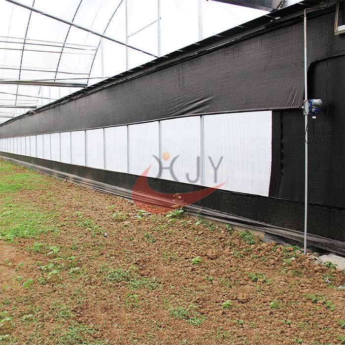 Agriculture Plastic Large Multi Span Greenhouse for Sale  Plastic Film Multi-Span Greenhouses