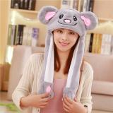 Plush Animal Hats with Flapping Ears Rabbit Hats
