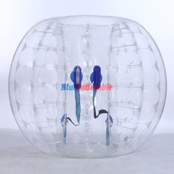 Clear / Transparent Bumper Ball Soccer Suit