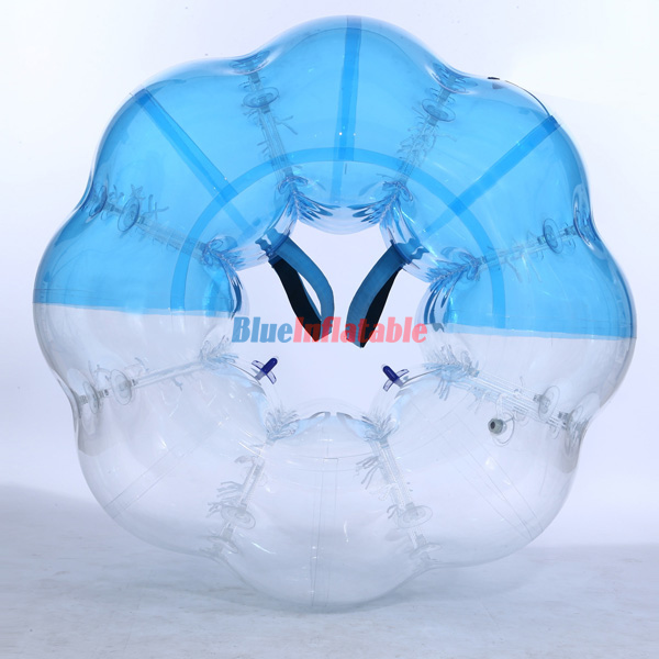 Half Coloured / Half Blue Bubble Ball Suit – Free Shipping