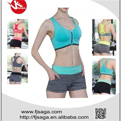 Women Sports Padded Gym Bra Yoga Stretch Tops Fitness Vest