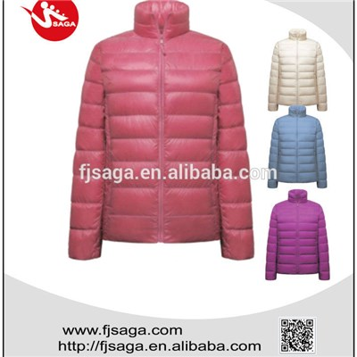 Women  Down Jackets Outdoor Winter Ultralight