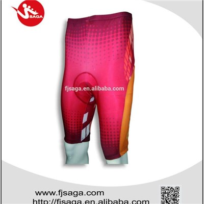 Cycling Padding Shorts digital print Men's Nylon cycling short
