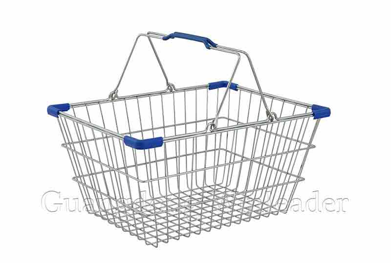 YLD-WB17 Shopping Basket,Wire Hand Basket,Wire Hand Basket for Sale,Wire Hand Basket Retail,Wire Hand Basket Wholesale