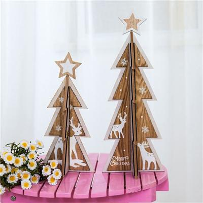 DIY Wooden Christmas Decoration Printing
