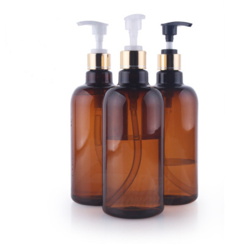 500ml Plastic Cylinder Lotion Bottles