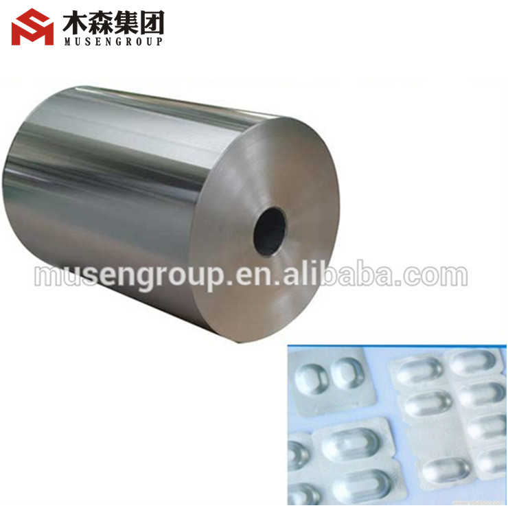Supply Pharmaceutical PTP blister Aluminum foil in jumbo roll