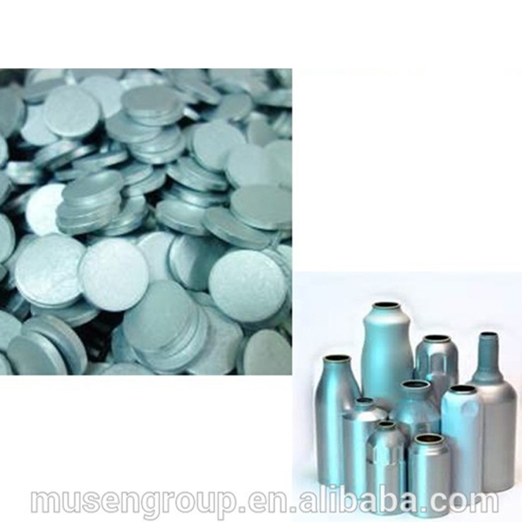 Factory supply shot blasted Aluminum slugs for Aerosol spray Can