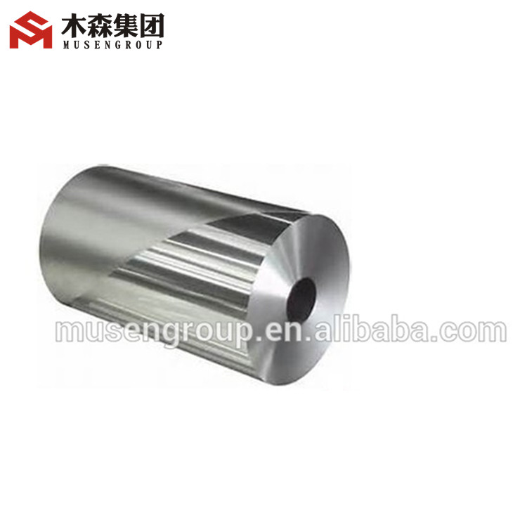 Roll type aluminum foil for beer bottle labels