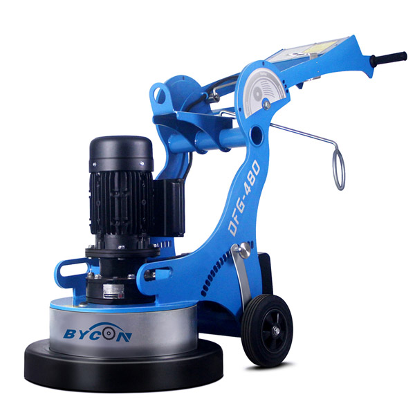DFG-480 CONCRETE GRINDING MACHINE TERRAZZO FLOOR GRINDER WITH VACUUM