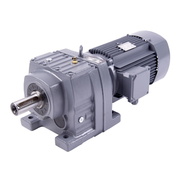 helical gear reducer motor unit reduction gearbox