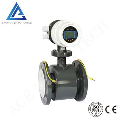 Integrated Electromagnetic Flow Meter
