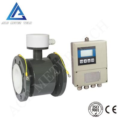 Split Electroagnetic Flow Meter