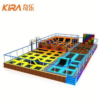 Indoor Trampoline Dodgeball