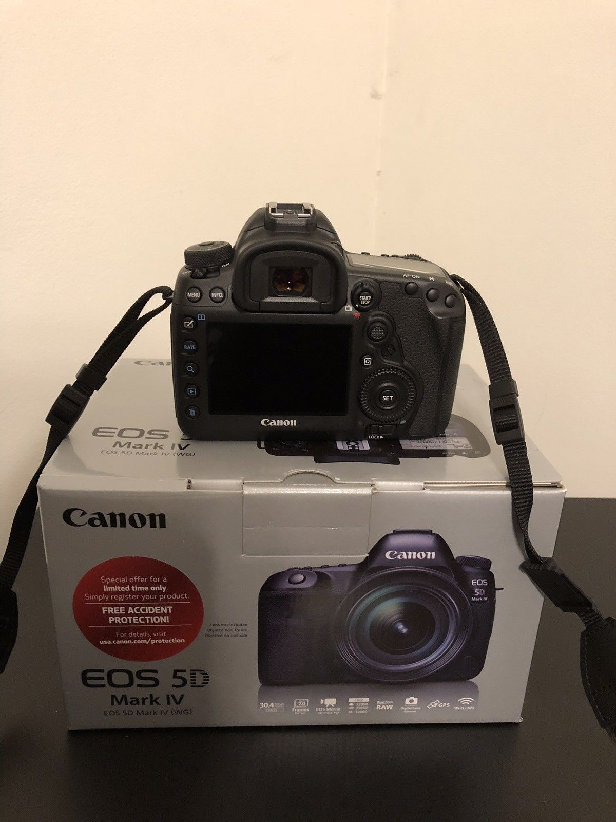 Canon EOS 5D Mark IV Digital SLR Camera