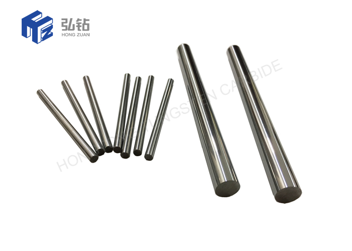 Sintered Tungsten Carbide Rods Mirror Polished H6 Standard Length 330mm