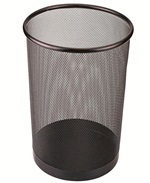 Trash can powder coating