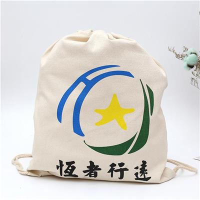 GYM Canvas Drawstring Bag