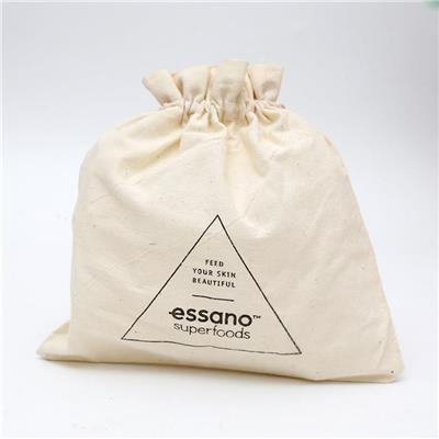 Canvas Grocery Drawstring Bag