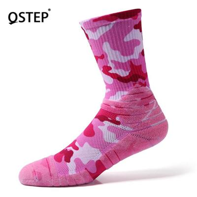 Pink Basketball Socks