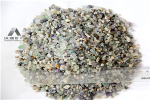 Washed  granular clean high purity90% 95% 5-20mm natural fluorite stone on sale