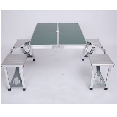 Foldable Working Aluminum Folding Camping Table