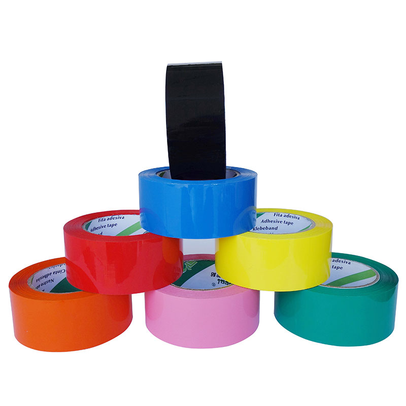 COLOURED TAPE, COLOURFUL TAPE, LOW NOISE COLORFUL TAPE