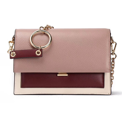 2020 original manufacturer classical design lady high quality leather chain bag lady casual handbag