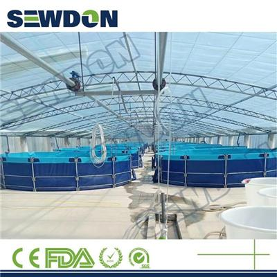 Above Ground Folding Fish Farming Ponds