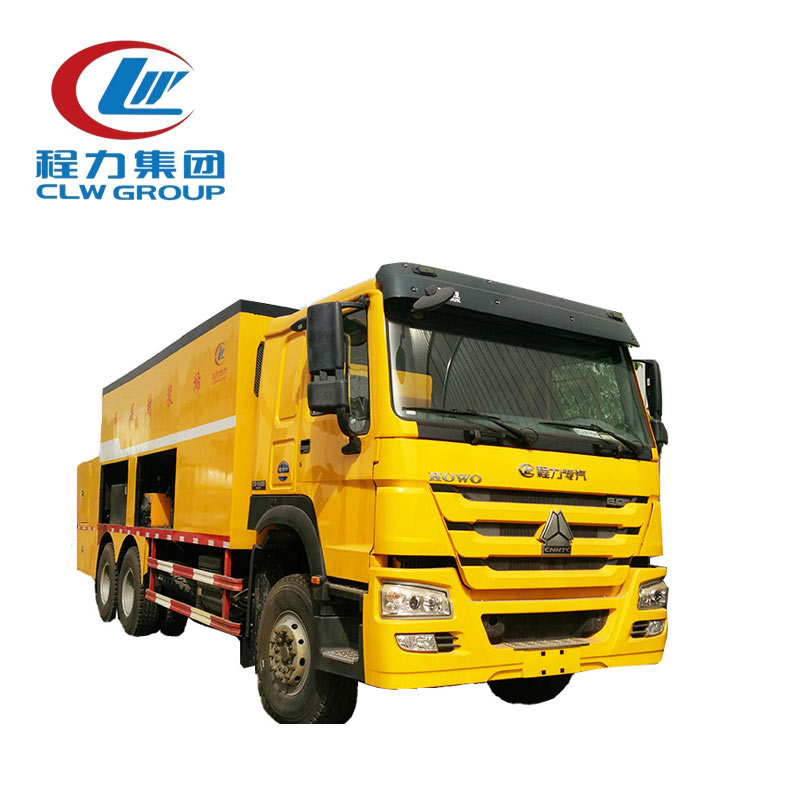 Slurry Seal Coat Trucks