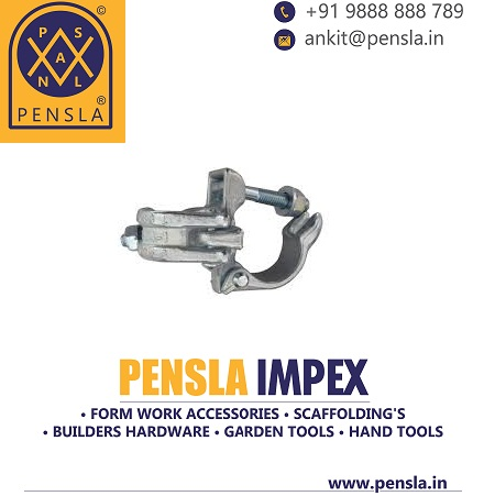 Forged Fixed Clamp (Double Coupler)