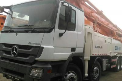 6 Section Boom Concrete Pump Truck