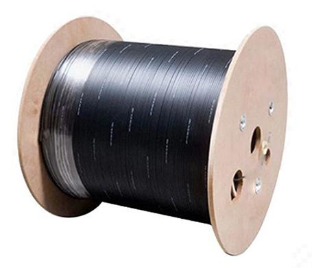 12-24 fibers Outdoor FTTH Drop Cable Steel Wire&FRP