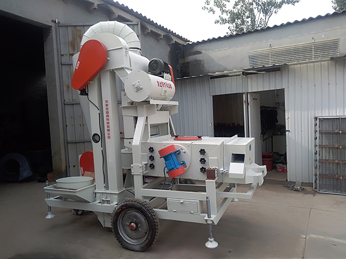 Air Screen Cleaning and Sorting Machine