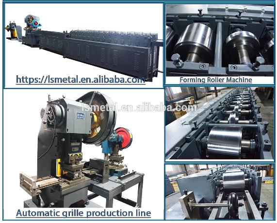 full automatic suspended open ceiling production line