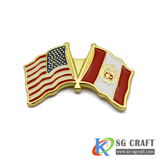 custom flag badge