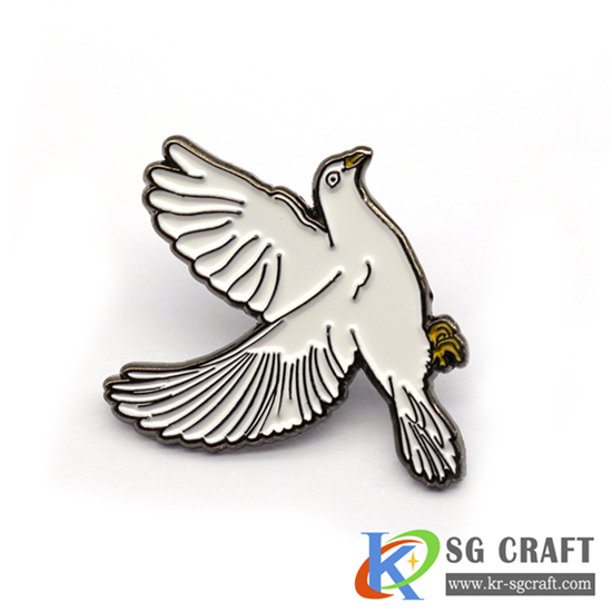 Custom pigeon badge